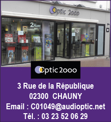 Optic 2000 02300 CHAUNY